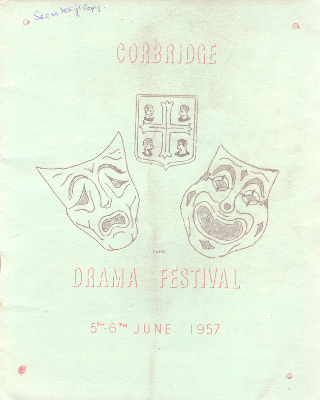1957 Riding Mill Drama Club, Corbridge D