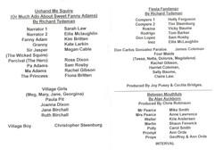 1997 Riding Mill Drama Club, One Act Pla