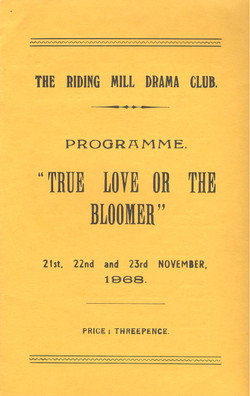 1968 Riding Mill Drama Club, True Love o