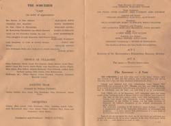 1970, Riding Mill Drama Club, The Sorcer
