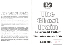 1995 Riding Mill Drama Club, The Ghost T