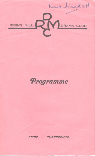 1953 Riding Mill Drama Club, The Paper Chain, Nov (1).jpg