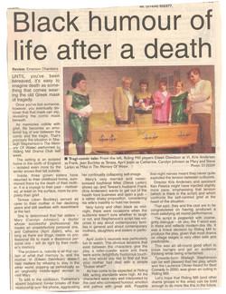 2002 Riding Mill Drama Club, The Memory