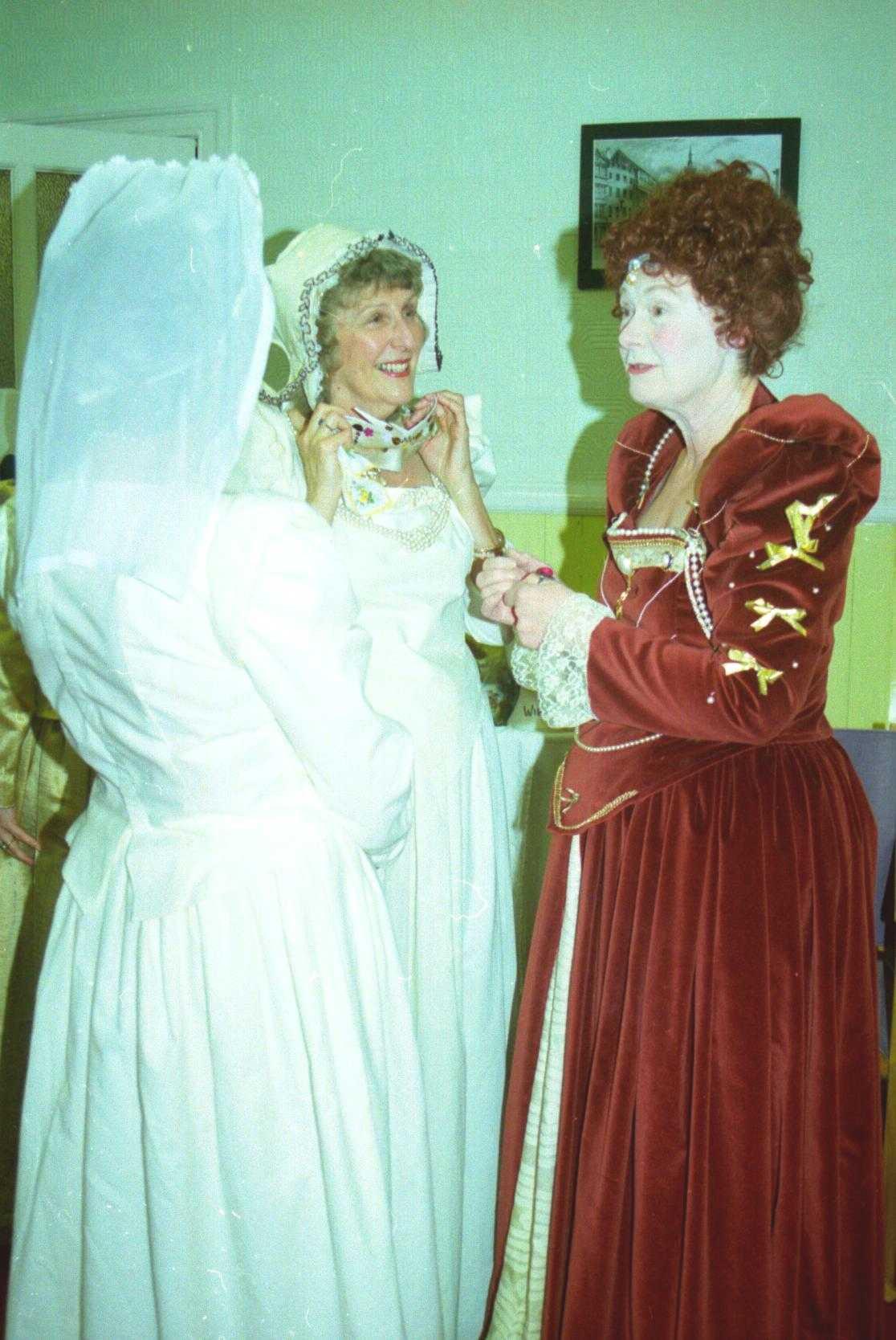 2000 June Dress rehearsal, A Midsummer N