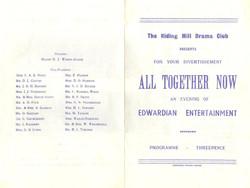 1972, Riding Mill Drama Club, All togeth