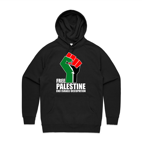 Free Palestine End Israeli Occupation Unisex Hoodie