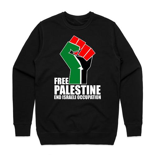 Free Palestine End Israeli Occupation Unisex Sweatshirt