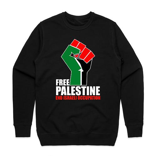 Free Palestine Gaza Freedom End Israeli Occupation Unisex Sweatshirt