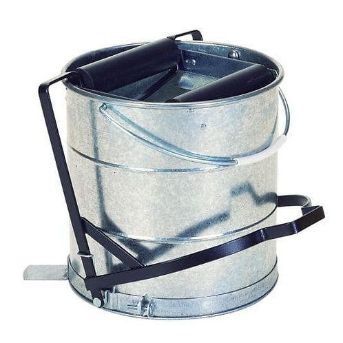 Galvanised Bucket With Roller 10Ltr