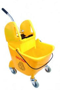 Buffalo Bucket Wringer Yellow 25Ltr