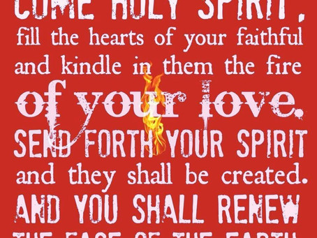 By the Light of the Holy Spirit