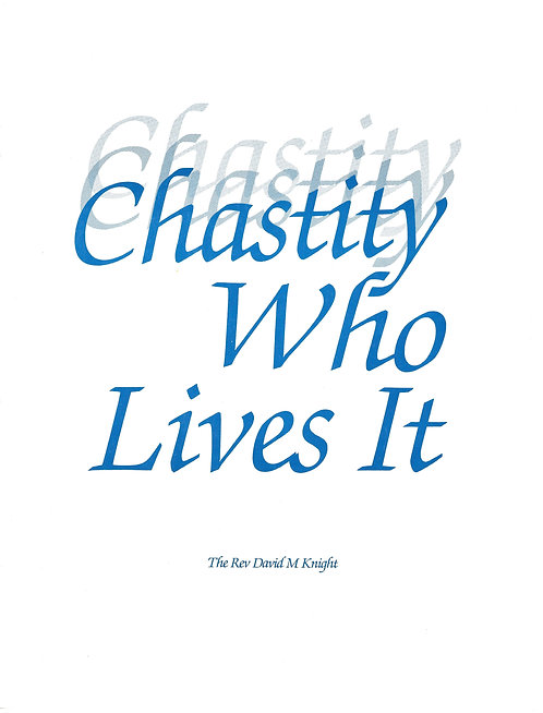 Chastity, Who Lives It?  (PDF Download)
