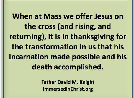 Immersed in Christ: Thursday 8/24/17