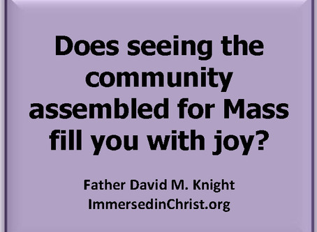 Immersed in Christ: Monday 8/28/17