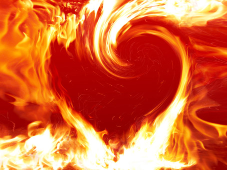 """""""Enkindle in us the fire of your divine love"""""""