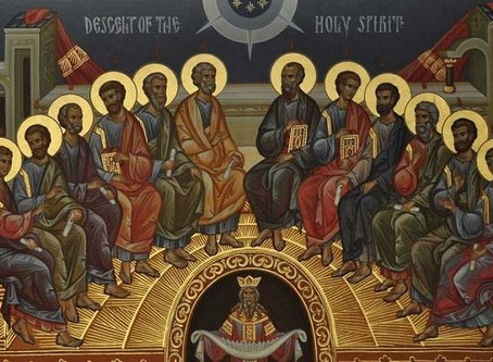 Father David's Reflection for Pentecost Sunday