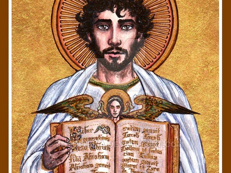 Immersed in Christ: Feast of St Matthew