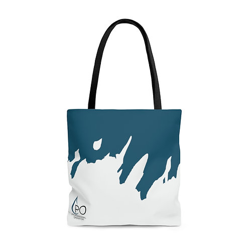 Splash Print PO Tote Bag