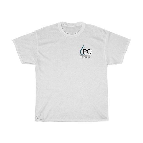 Unisex PO Logo Tee White