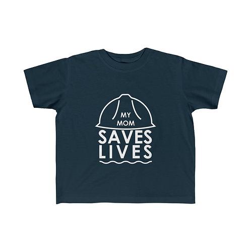 """My Mom Saves Lives"" Kid's Fine Jersey Tee"