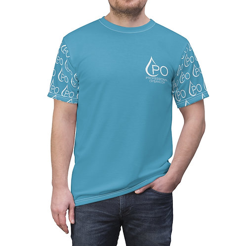 Unisex PO Sleeve Logo Tee