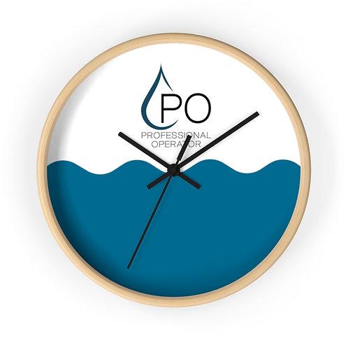 Wave PO Wall Clock