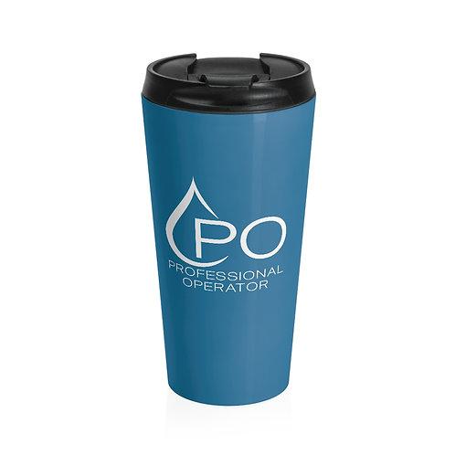 Stainless Steel PO Logo Travel Mug