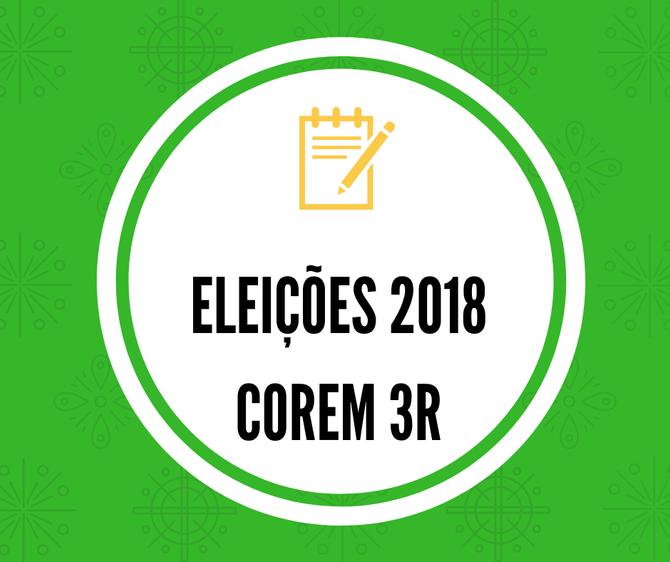 Ata da Apuração das Eleições 2018 COREM3R