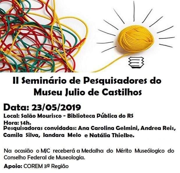 COREM3R concede Medalha Mérito Museológico ao Museu Julio de Castilhos