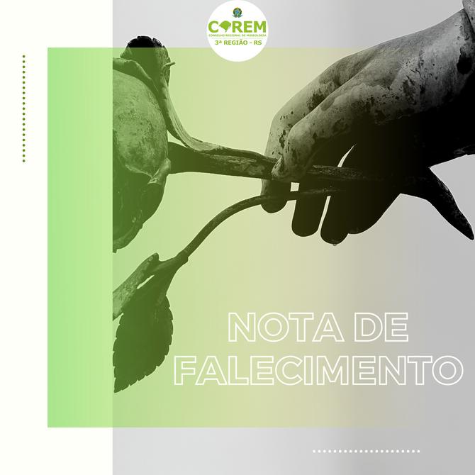 NOTA DE FALECIMENTO - LYGIA COSTA