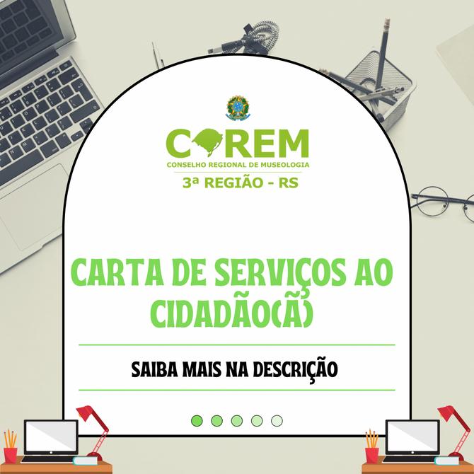 CARTA DE SERVIÇOS AO CIDADÃO(Ã)