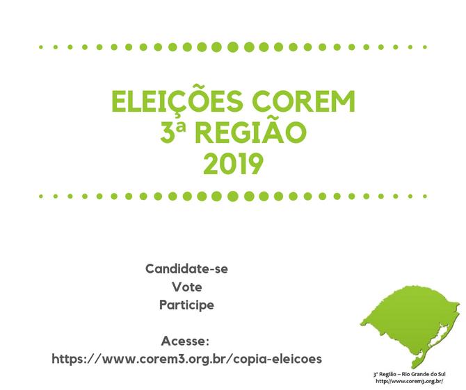 Porque votar e ser votado para conselheiro do  Sistema COFEM/COREMs?