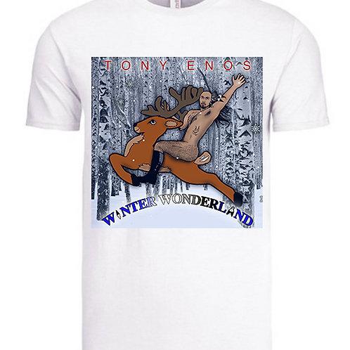 """""""Winter Wonderland""""T-Shirt in Black"""