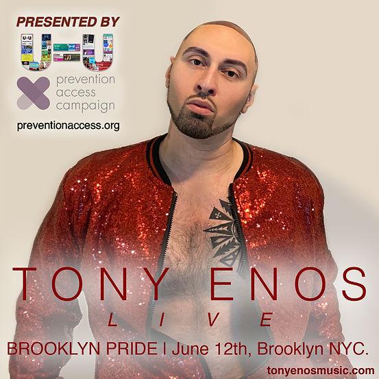 Tony Enos Live at Brooklyn Pride 1400x14