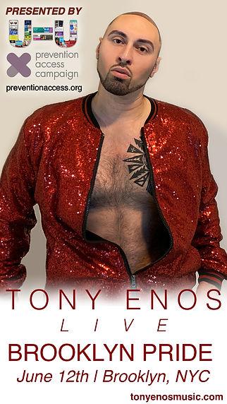 Tony Enos Live at Brooklyn Pride Story 2