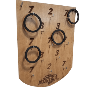 Wood Ringtoss Board