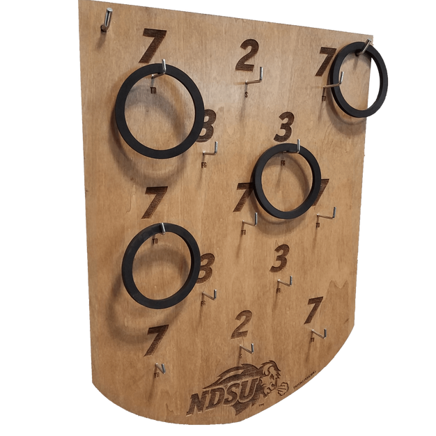 Wood Ringtoss Board