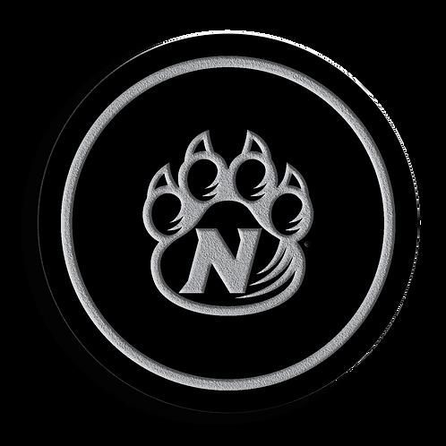 Northwest Missouri State Bearcats Black Acrylic Coaster Set