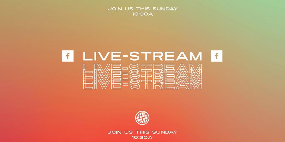 Church At Home: Facebook Live-Stream