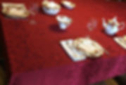 maßgeschneiderte Tischdecke