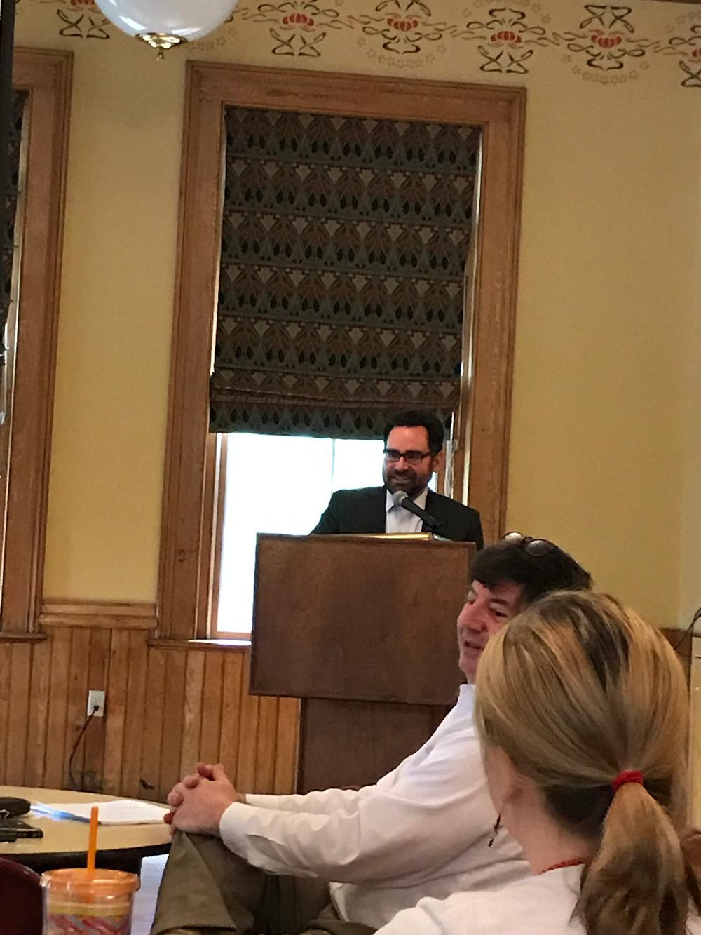 CT DEEP Commissioner Rob Klee addressing CEF