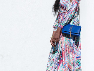 Fall Wedding Guest Look: the Maxi Dress