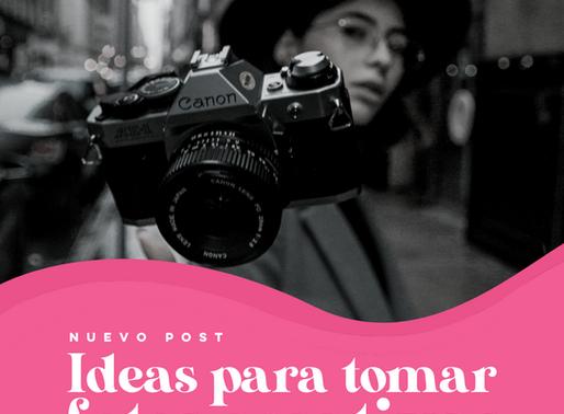 Ideas para tomar fotos creativas