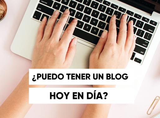 ¿Puedo tener un blog en el 2020?