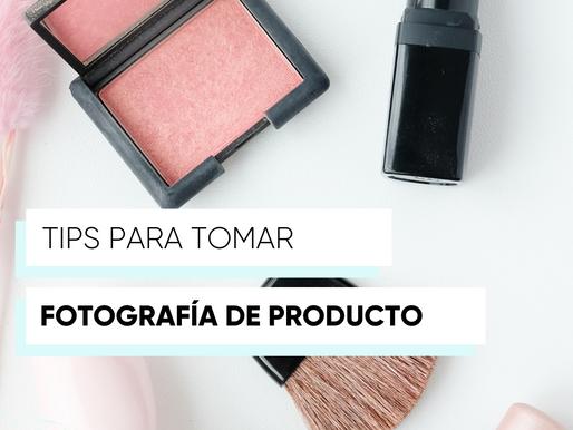 Tips para tomar fotografía de producto