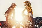 オフロードモーターバイク トレイルライド ニュージーランド ノースカンタベリー ファームライド