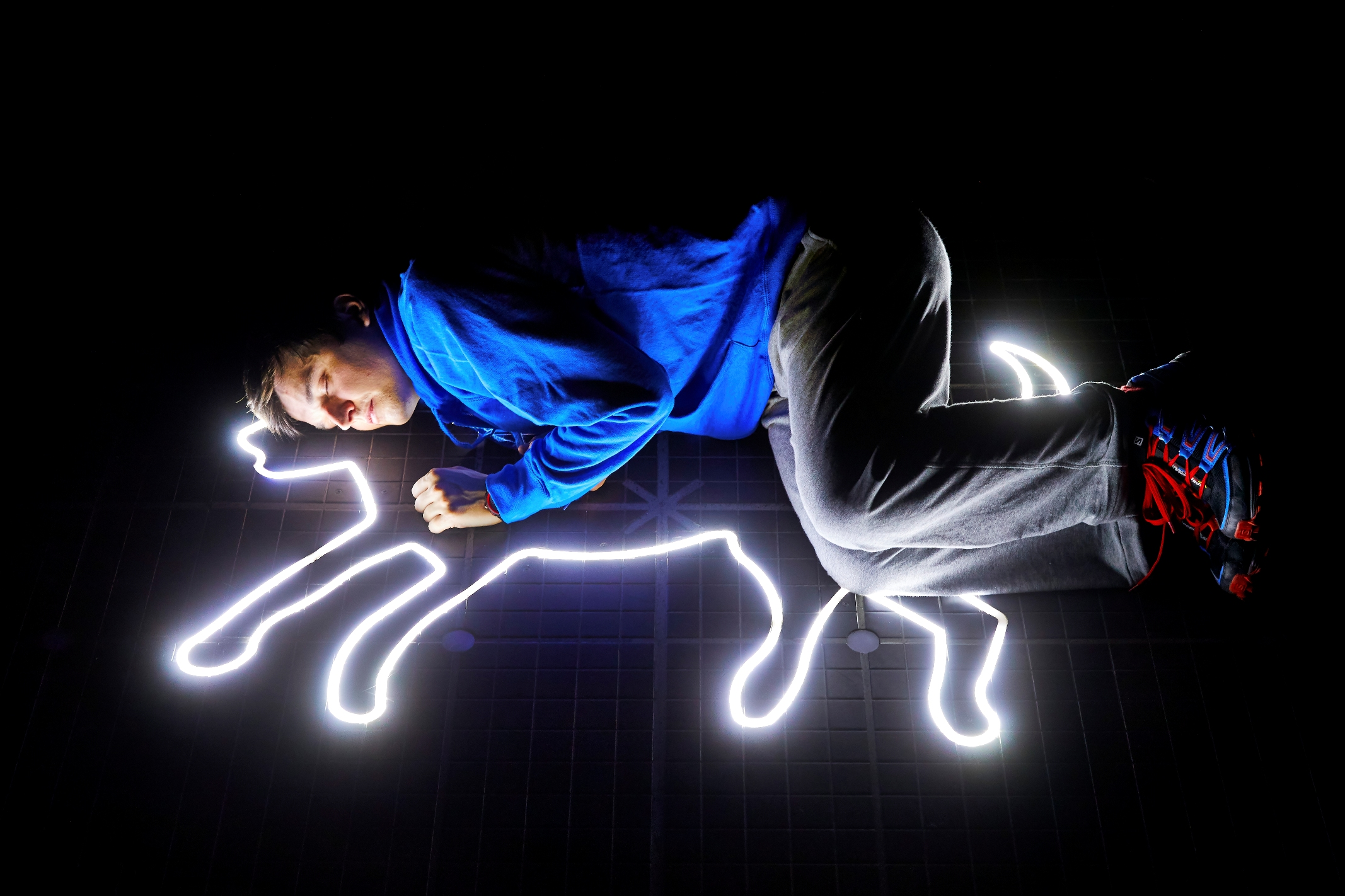 Joshua Jenkins (Christopher Boone) - Curious Incident  International Tour. Phot
