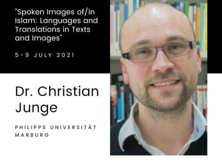 Keynote speaker - Christian Junge