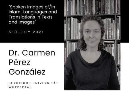 Keynote speaker - Carmen Pérez González