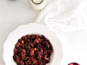 collagen & cocao granola